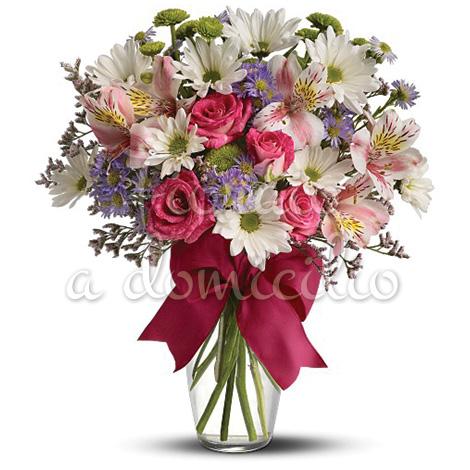 Conosciuto Fiori per compleanno a domicilio: inviare fiori, regali e torte LJ36