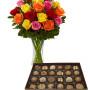 scatola-di-cioccolatini-con-bouquet-di-rose-colorate