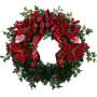 Fiori a domicilio |Ghirlanda natalizia con stelle di Natale