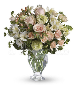 bouquet-di-rose-rosa-e-fiorellini-bianchi