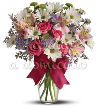 Fiori a domicilio: Bouquet beautiful di fiori misti