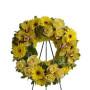 corona-funebre-di-orchidee-rose-e-gerbere-gialle