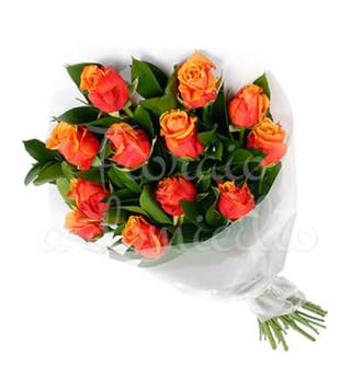 fascio-di-12-rose-arancio-extra