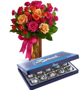 scatola-di-baci-perugina-con-bouquet-di-roselline